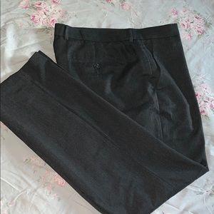 Men's Dark Gray Slacks
